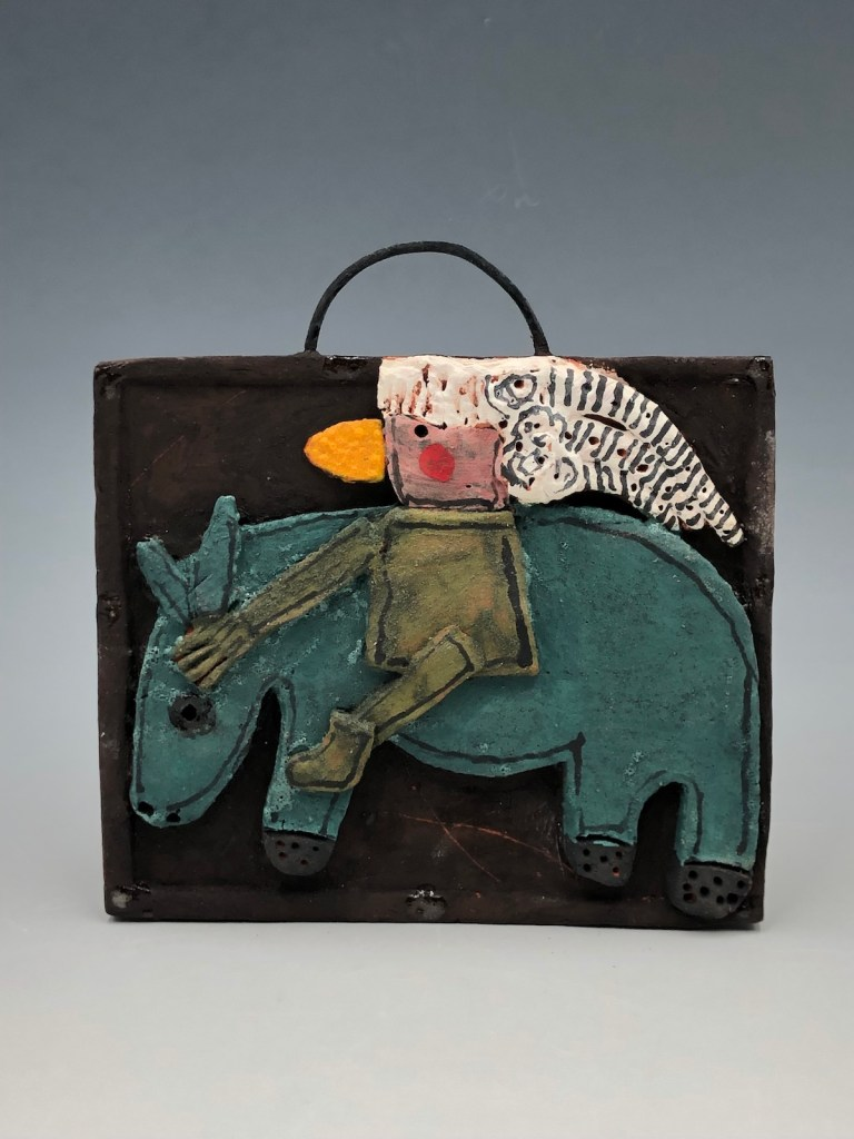 """Horse with Rider 