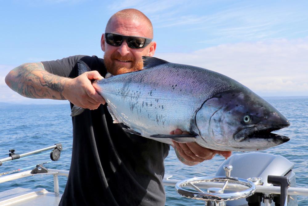 sunglasses tattoos and chinook salmon