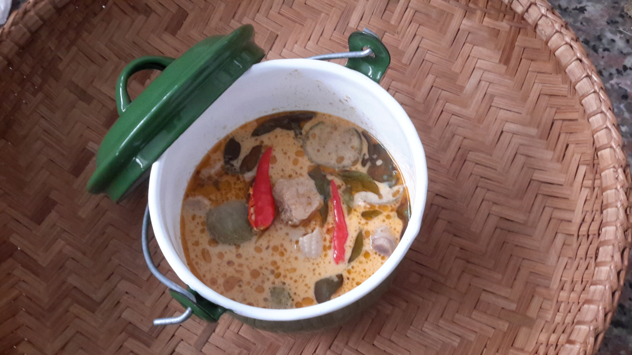 Tasty and Classy Thai green curry