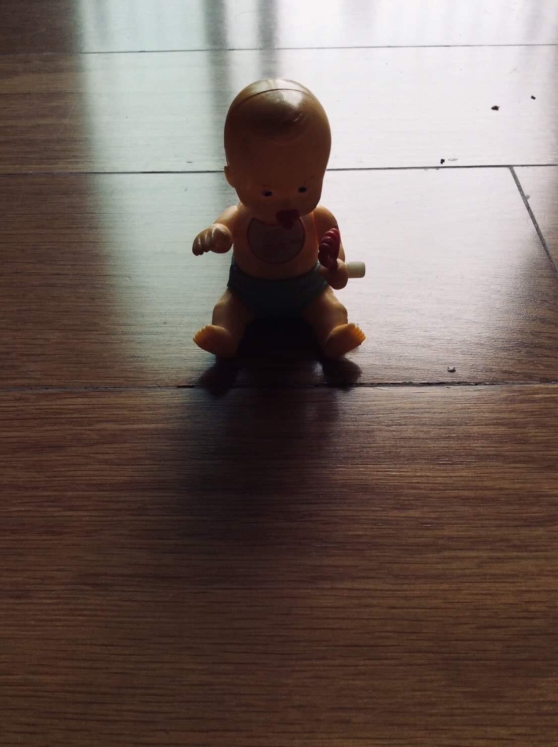 GRUDGE HOLDING BABY DOLL 👶🏻🧸👻😈 ( ตุ๊กตาทารกจอมอาฆาต 👶🏻🧸👻😈 )