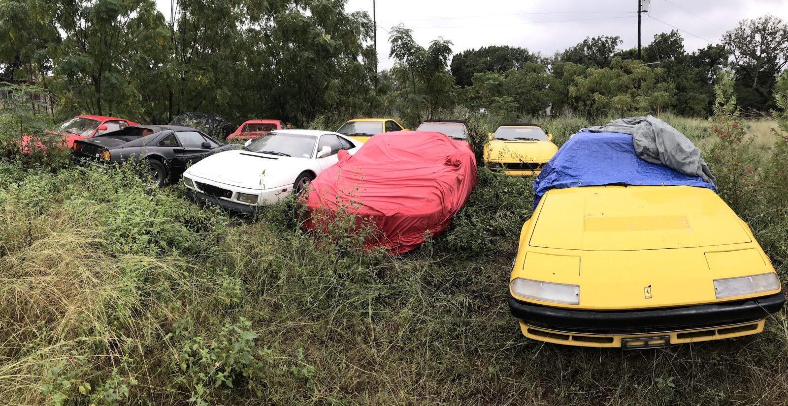 Ferrari อันล้ำถูกทิ้งลืมบนทุ่งหญ้า ( เพราะเหตุใด ? )