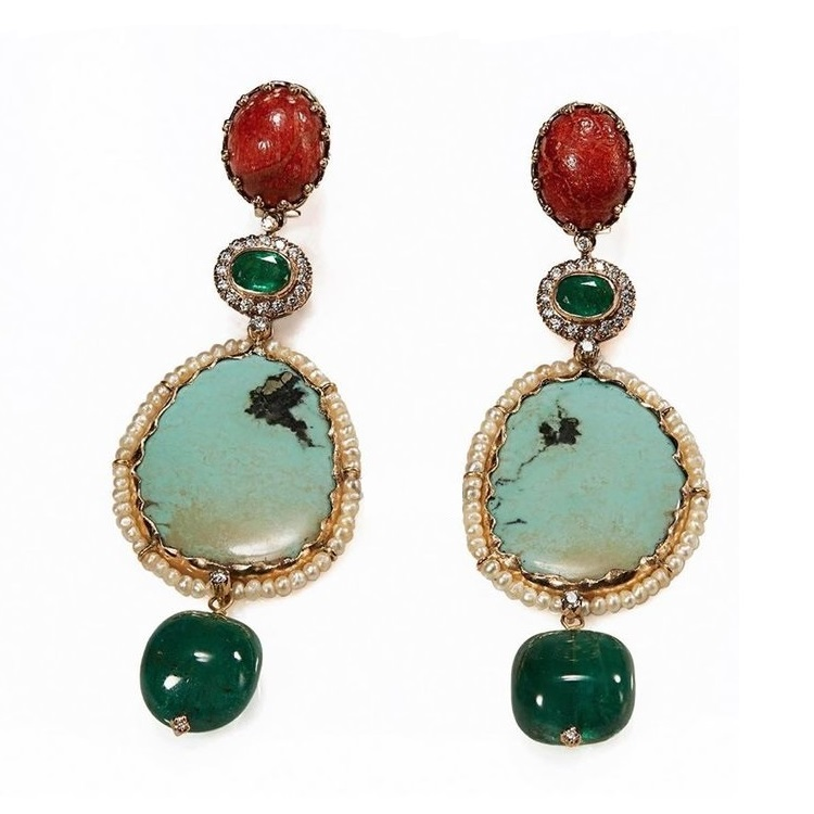 Sabyasachi Jewelry Collection: Earrings