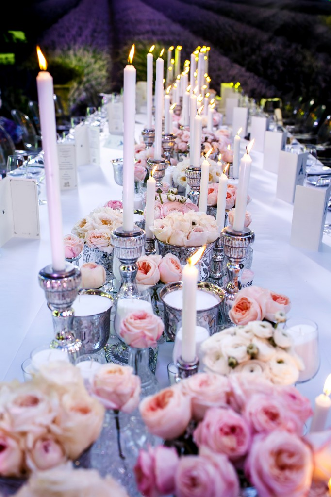 Simple Elegant Wedding Table Decorations On a Budget
