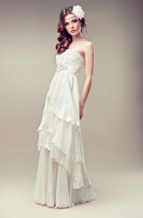 Spanish Style Wedding Dresses  Outside The Box Wedding