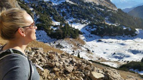 hiking austrian alps