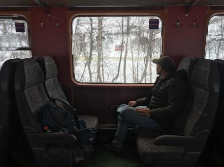 riding the railway