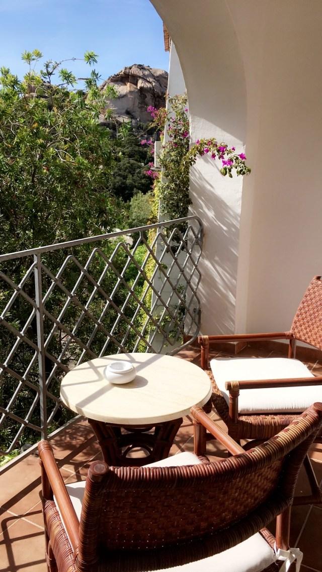 balcony at grand hotel poltu quatu
