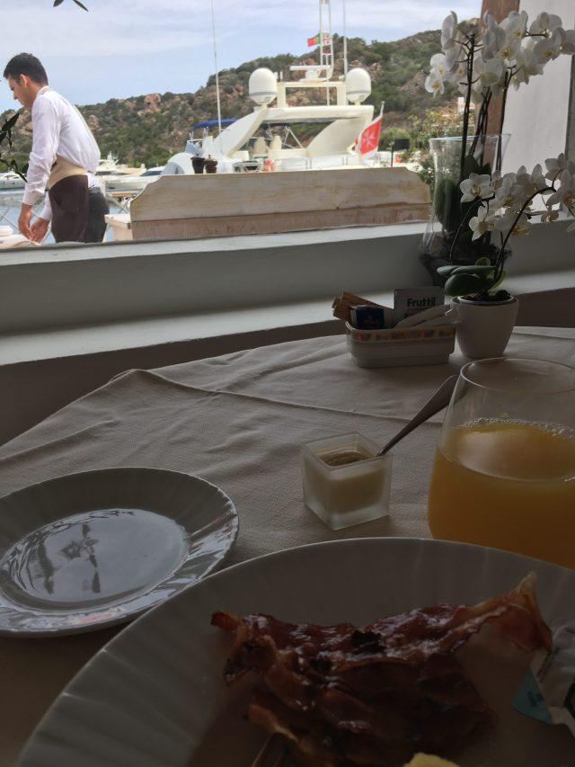 amazing breakfast at grand hotel poltu quatu