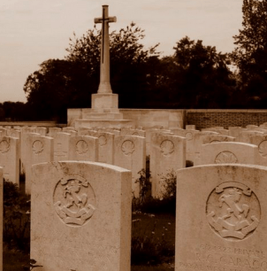 WWI gravestones