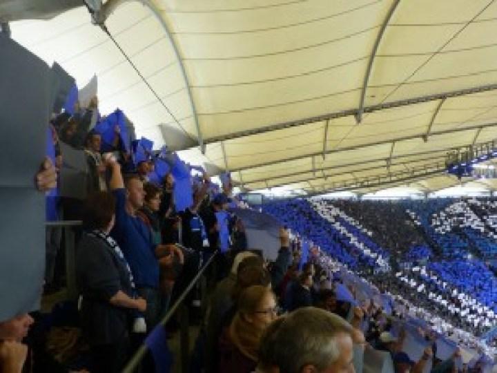 HSV fans Imtech Arena