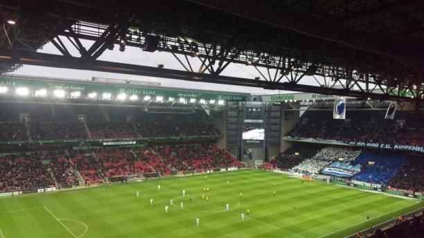 Derby day at the Telia Parken, Copenhagen Credit: Paul Drury-Bradey