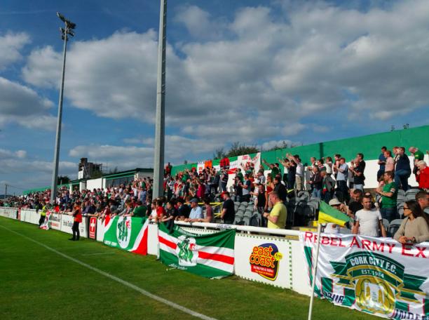 Cork City fans League of Ireland