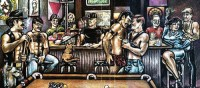Marys Infamous Mural: Iconic Art for an Iconic Bar ...