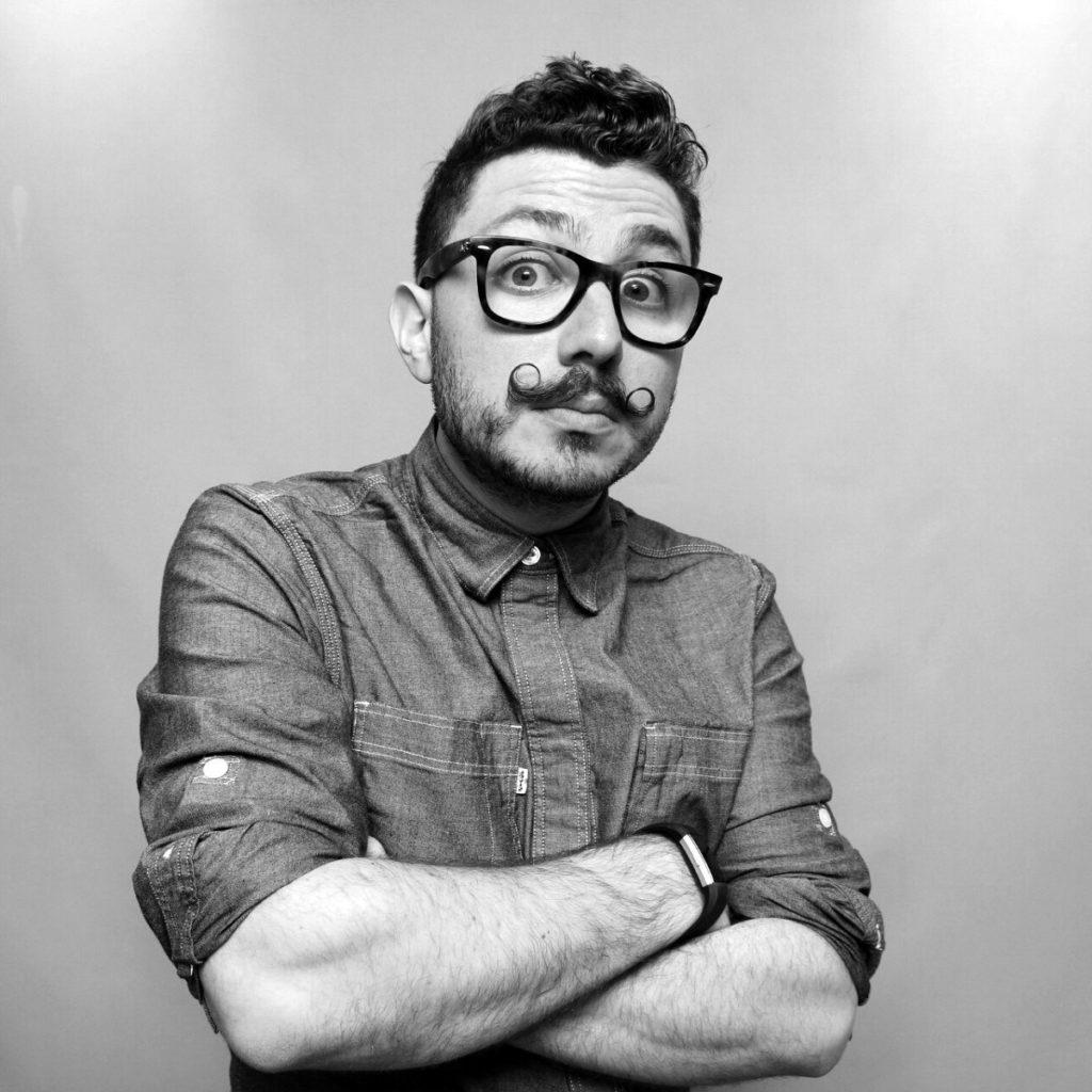 Portrait of OutSnapped.com founder, Nicholas Rhodes