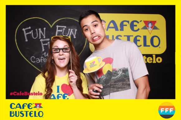 OutSnapped creates a custom photo booth for Cafe Bustelo
