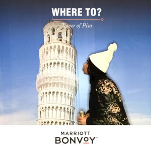 Marriott Bonvoy Launch: Leaning Tower of Pisa Experience Still Photo Booth