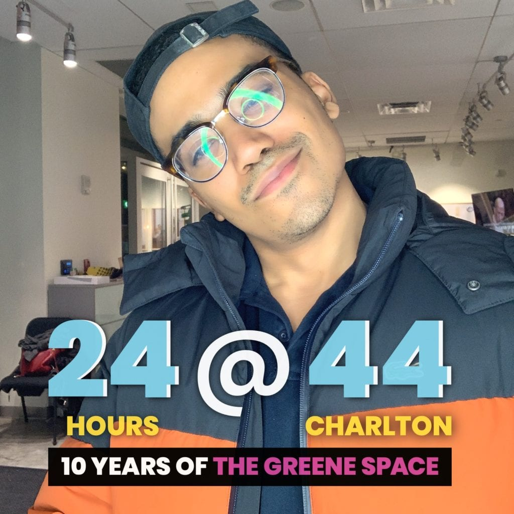 Ring Light Photo Booth Rental NYC for 24@44 Greene Space Photo Booth Activation by OutSnapped