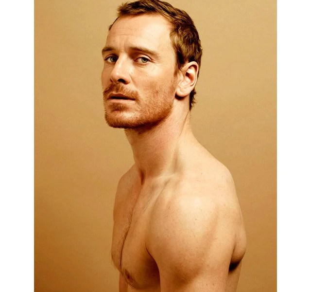 Michael Fassbender Short Red Hair