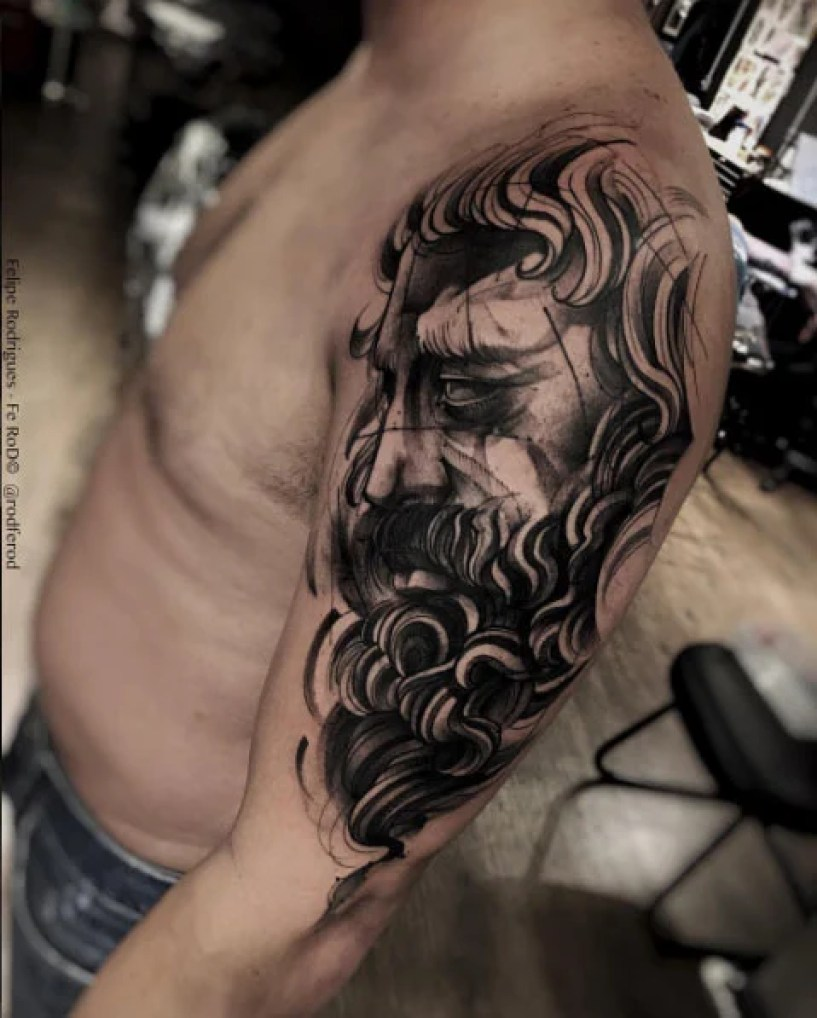 Cool Arm Tattoo
