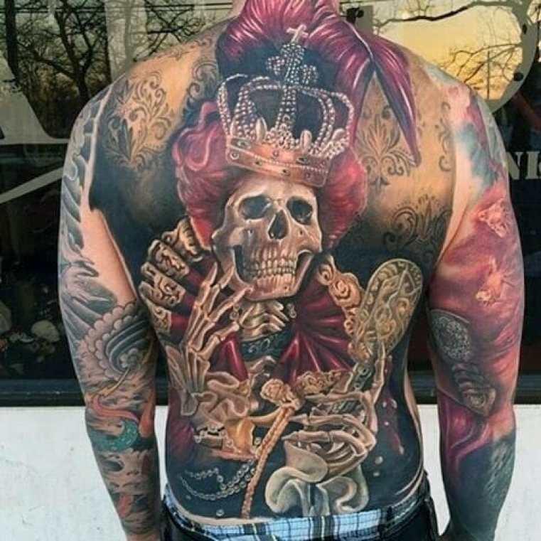 Crowned Skeleton