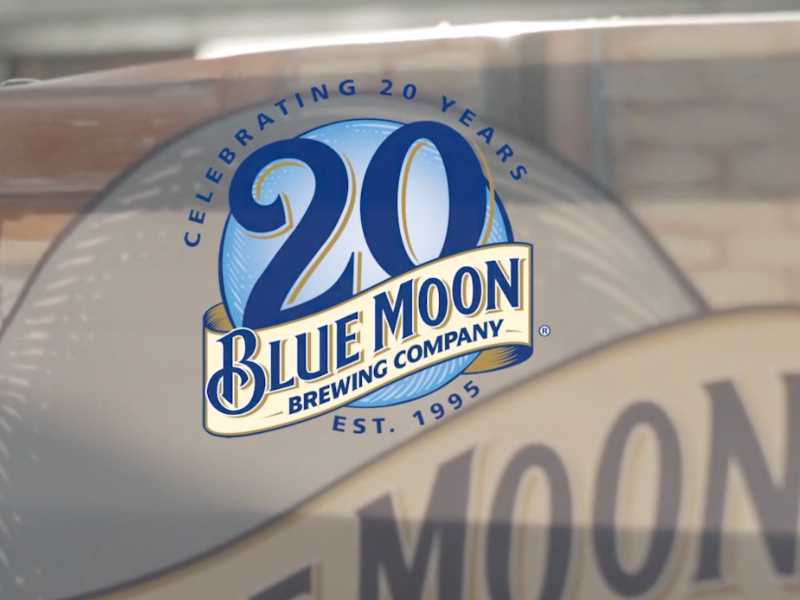 Blue moon Brewing Co. 20th Anniversary