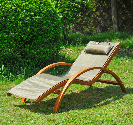 reading poolside lounge chair portable umbrella outsunny wood chaise beach yard patio camping lounger w/ headrest   ebay