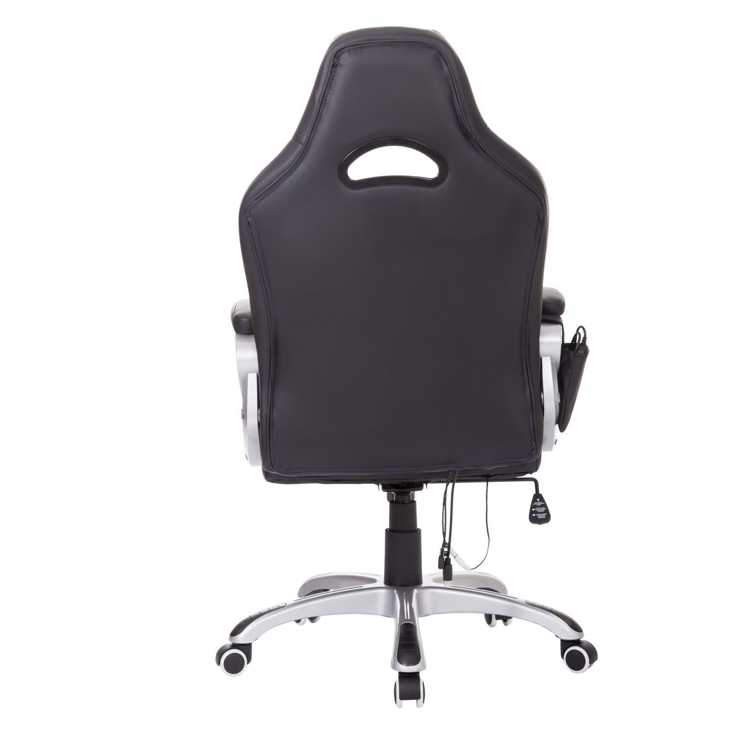 Massage Chair For Car Homcom Adjustable Office Massage Race Car Game Chair