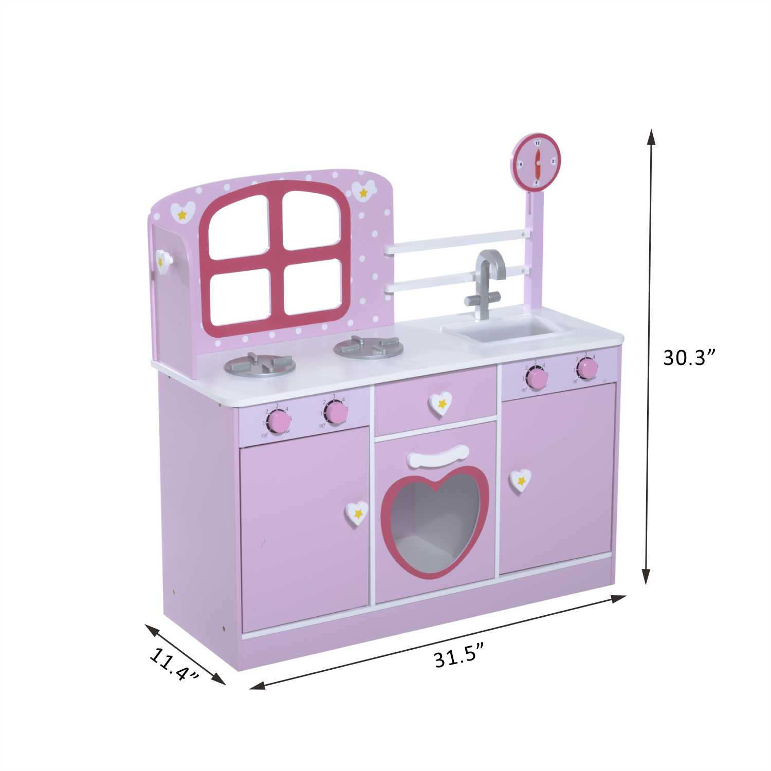 kids kitchen appliances price pfister treviso faucet new wood children pretend play set cooking