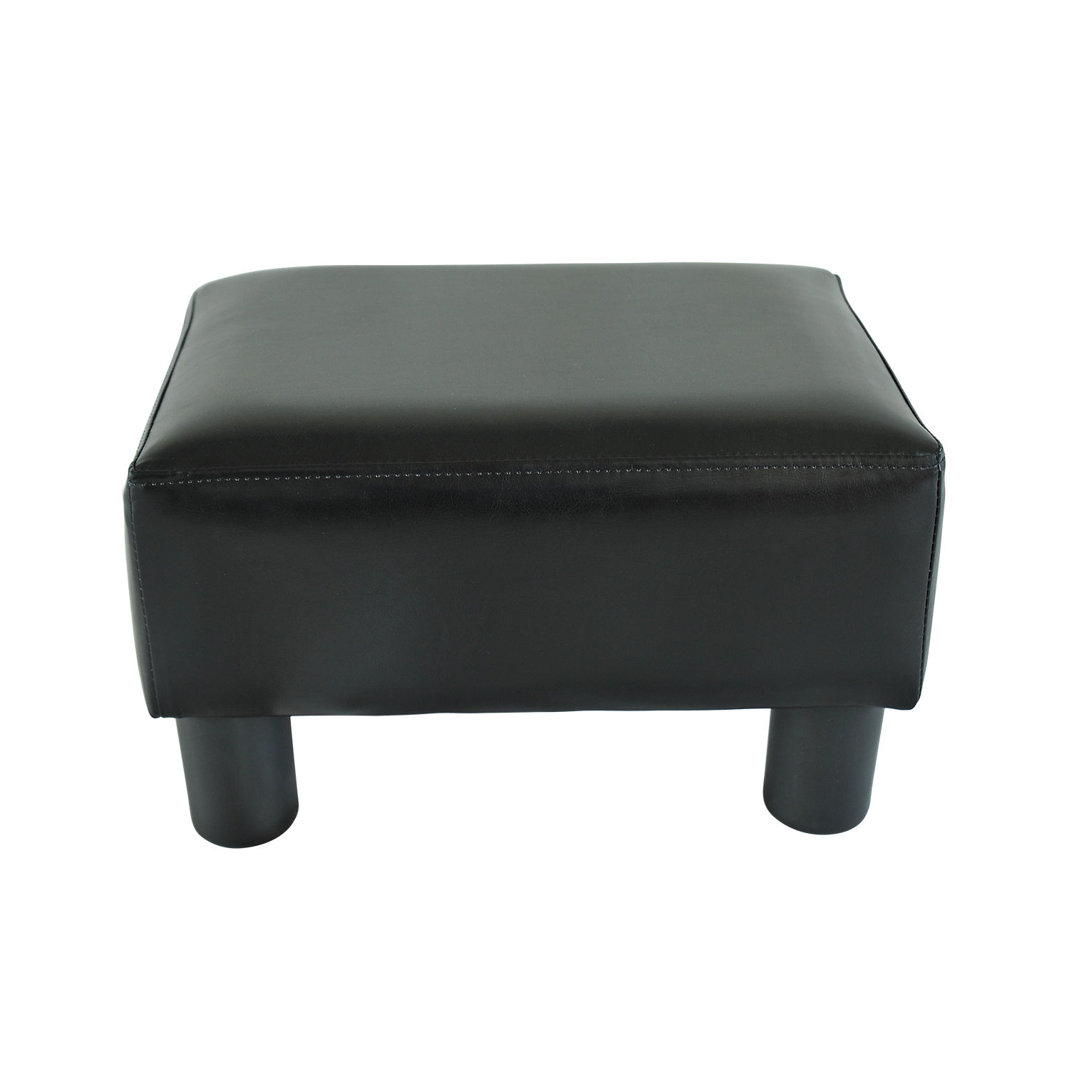 chair stool sofa covers bournemouth modern faux leather ottoman footrest foot rest small