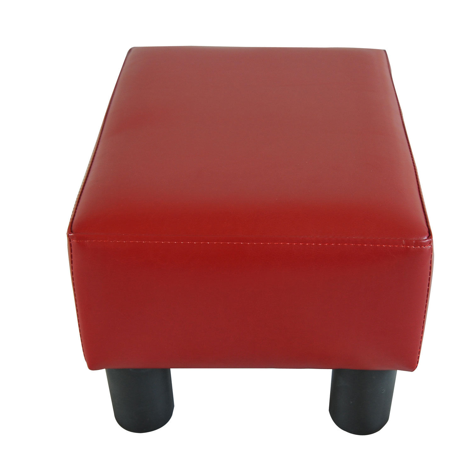 chair stool with footrest good computer modern faux leather ottoman foot rest small