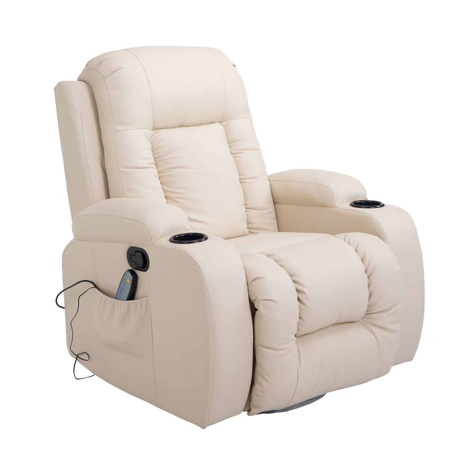 Electric Rocking Chair Massage Sofa Chair Recline Rocking Armchair Lounge Heated
