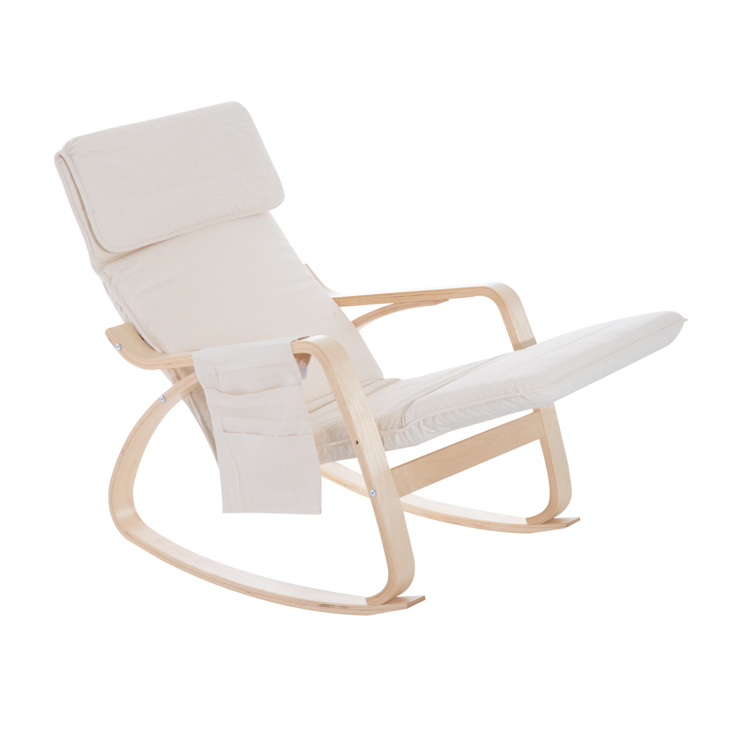 easy chairs with integral footrest hammock chair stand ikea comfortable modern furniture rocking lounge recliner