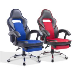 Swivel Chair For Car Stool Target High Back Office Gaming Race Style Pu
