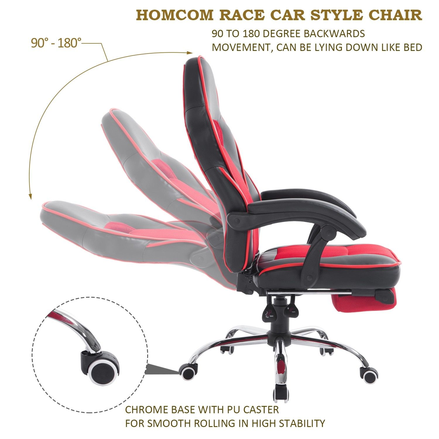 gaming chair ebay trampoline chairs at target high back office swivel race car style pu