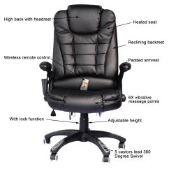 Back Support For Office Chairs Big W Portable Folding In Sri Lanka Home Computer Desk Massage Chair Executive