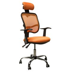 Add On Headrest For Office Chair Glider With Ottoman Sale Adjustable Mesh Task Computer Desk High Back