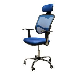 Add Headrest To Office Chair Folding Rental Adjustable Mesh Task Computer Desk High Back