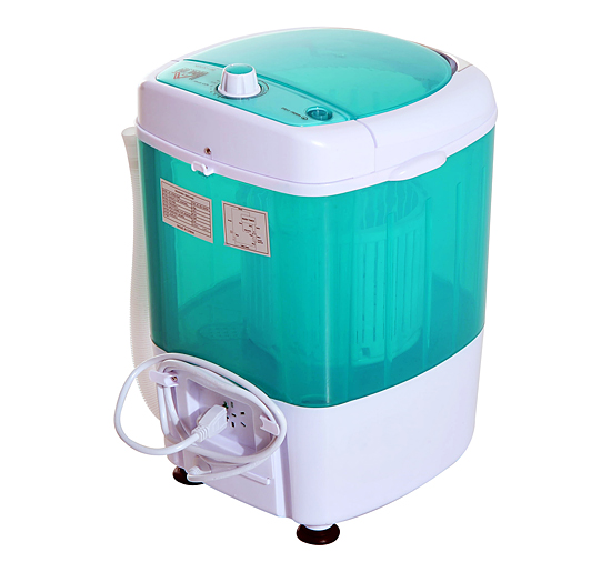 Portable Mini Compact Washing Machine Electric Laundry Spin Washer Dryer 55lbs