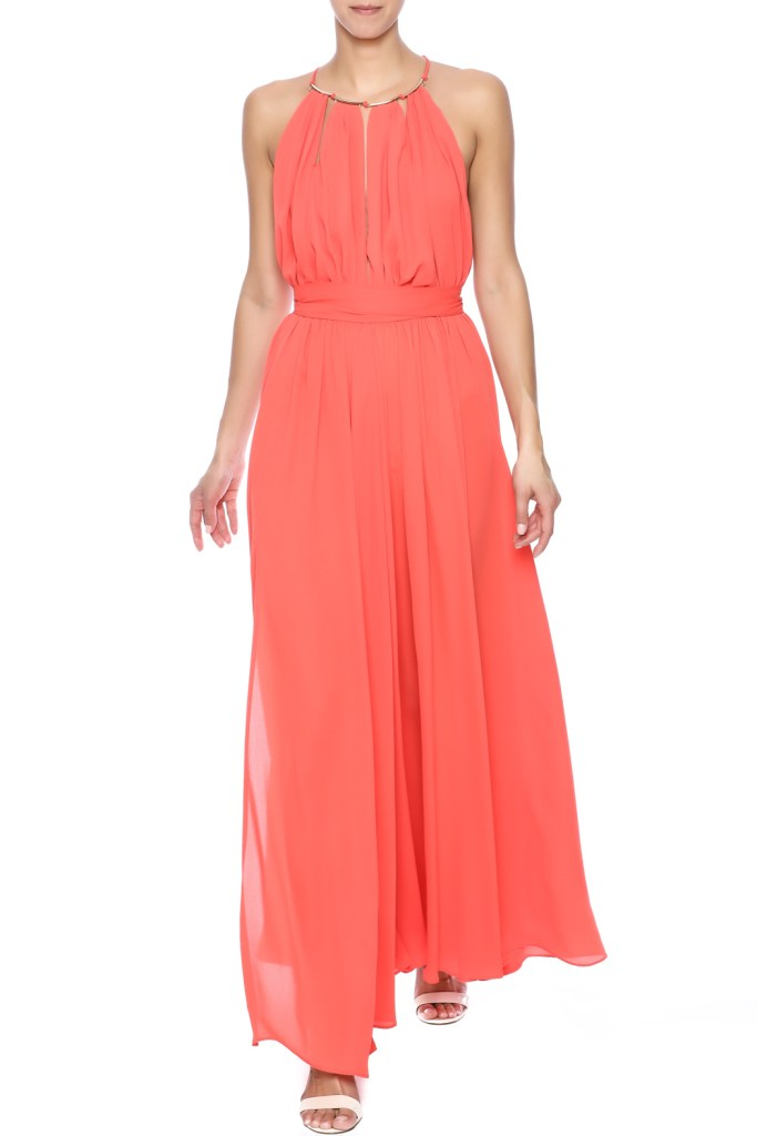 The Daily Find: Halter Top Maxi Dress