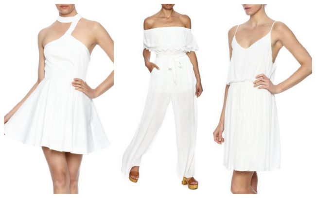 All White Party Styling Ideas