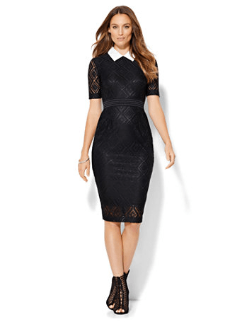 The Daily Find: Lace Sheath Dress