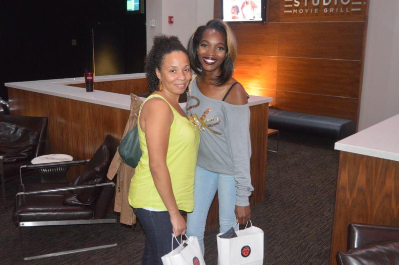 In the gray top is Ms. Ashley N. Surratt founder and editor of https://theglitteredpinkfoundation.com/ & friend Maxine Jackson