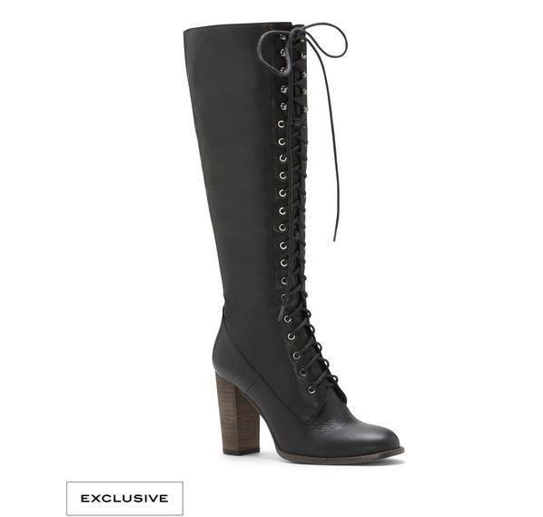 The Daily Find: Vince Camuto Lace-Up Boots