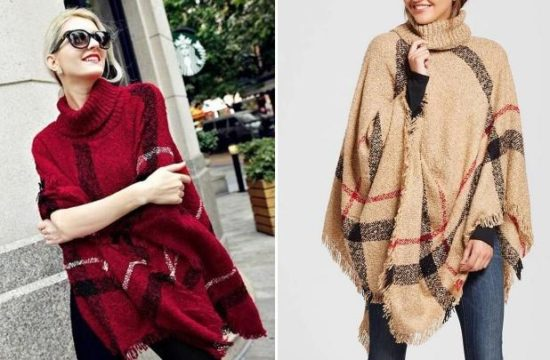 Deal Of The Day: Plaid Ponchos – New 16 Colors!