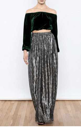 The Daily Find: Pleated Maxi Skirt
