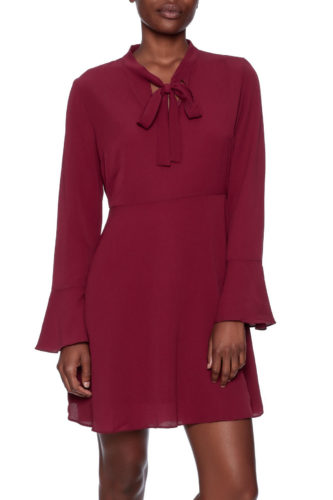 The Daily Find: Esley Tie Neck Dress