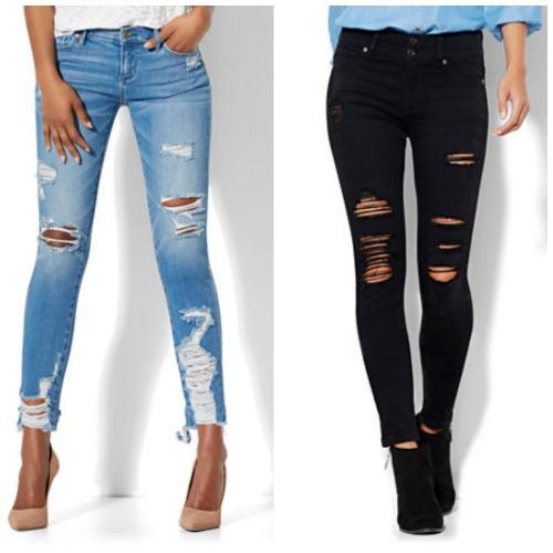 So Torn: Ripped Jeans