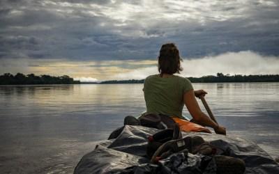 Mit dem Kanu durch den Amazonas