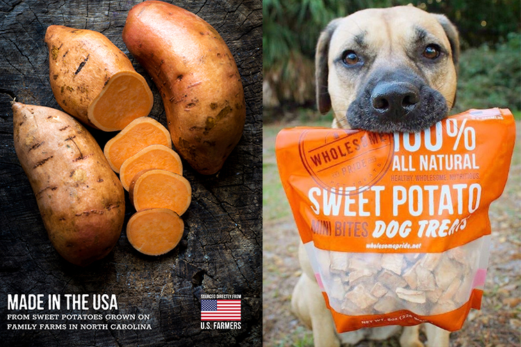sweet potato treats for dogs