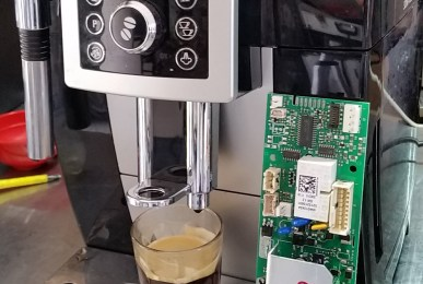 Delong Coffee Machine Error